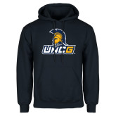 Navy Fleece Hoodie-Lock Up