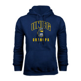 Navy Fleece Hood-Grandpa