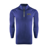 Under Armour Navy Tech 1/4 Zip Performance Shirt-Arched UNCG