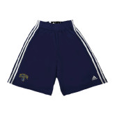 Adidas Climalite Navy Practice Short-Arched UNCG w/Spartan