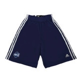 Adidas Climalite Navy Practice Short-UNCG Shield