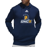 Adidas Navy Team Issue Hoodie-Lock Up