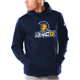 Under Armour Navy Armour Fleece Hoodie-Lock Up