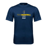 Syntrel Performance Navy Tee-Basketball Net Design