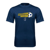 Syntrel Performance Navy Tee-Soccer Ball Design