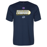 Performance Navy Tee-2017 SoCon Regular Season Softball Champions - Ball