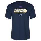 Syntrel Performance Navy Tee-2017 SoCon Regular Season Softball Champions - Ball
