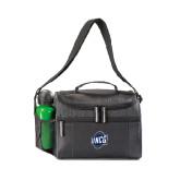 Edge Black Cooler-UNCG Shield