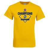 Gold T Shirt-Baseball SoCon Champions 2017 - Diamond