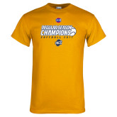 Gold T Shirt-2017 SoCon Regular Season Softball Champions - Ball