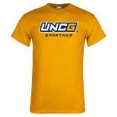 Gold T Shirt-UNCG Spartans