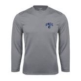 Performance Steel Longsleeve Shirt-Arched UNCG w/Spartan