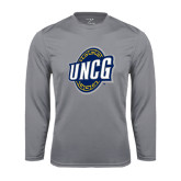 Performance Steel Longsleeve Shirt-UNCG Shield