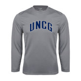 Syntrel Performance Steel Longsleeve Shirt-Arched UNCG