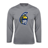 Performance Steel Longsleeve Shirt-Spartan Head