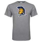 Grey T Shirt-Spartan Logo