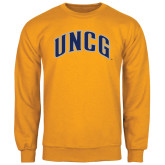 Gold Fleece Crew-Arched UNCG