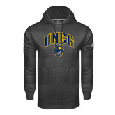 Under Armour Carbon Performance Sweats Team Hoodie-Arched UNCG w/Spartan