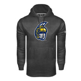Under Armour Carbon Performance Sweats Team Hoodie-Spartan Head