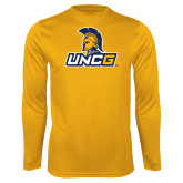 Performance Gold Longsleeve Shirt-Lock Up