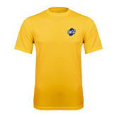 Performance Gold Tee-UNCG Shield