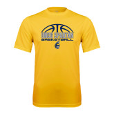 Syntrel Performance Gold Tee-Arched Basketball Design