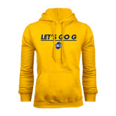 Gold Fleece Hood-Lets Go G