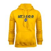 Gold Fleece Hoodie-Lets Go G