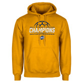 Gold Fleece Hoodie-2017 Womens Soccer Champions