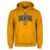 Gold Fleece Hoodie-2018 Mens Basketball Champions - Stacked