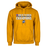 Gold Fleece Hoodie-2018 Back to Back Regular Season Champions
