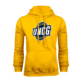 Gold Fleece Hood-UNCG Shield
