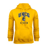 Gold Fleece Hood-Soccer