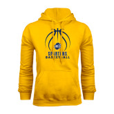 Gold Fleece Hoodie-Stacked Basketball