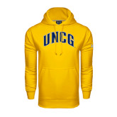 Under Armour Gold Performance Sweats Team Hoodie-Arched UNCG