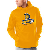 Under Armour Gold Armour Fleece Hoodie-Softball