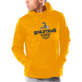 Under Armour Gold Armour Fleece Hoodie-Basketball Sharp Net
