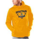 Under Armour Gold Armour Fleece Hoodie-Baseball Plate