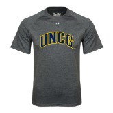 Under Armour Carbon Heather Tech Tee-Arched UNCG