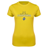 Ladies Syntrel Performance Gold Tee-2018 Mens Golf Champions