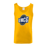 Gold Tank Top-UNCG Shield