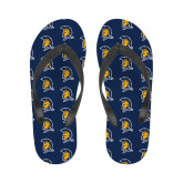 Ladies Full Color Flip Flops-Spartan Logo