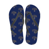 Full Color Flip Flops-Arched UNCG w/Spartan