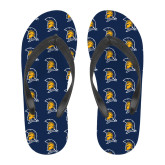 Full Color Flip Flops-Spartan Logo