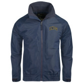 Navy Charger Jacket-Arched UNCG