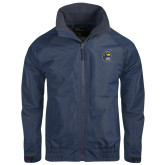 Navy Charger Jacket-Spartan Head