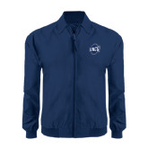 Navy Players Jacket-UNCG Shield