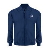 Navy Players Jacket-UNCG Shield