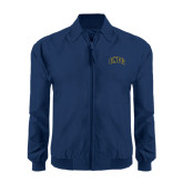 Navy Players Jacket-Arched UNCG