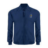 Navy Players Jacket-Spartan Head